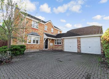 Thumbnail 4 bed detached house to rent in Evergreens, Chesterton, Cambridge