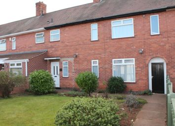 Thumbnail 3 bed terraced house to rent in Helston Drive, Strelley, Nottingham