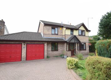 Thumbnail 4 bedroom detached house for sale in Ashleigh Court, Henllys, Cwmbran