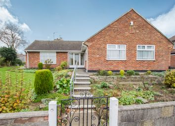 Thumbnail 2 bed detached bungalow for sale in Fulbeck Avenue, Leicester