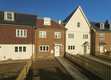 Chambers Wharf, New Creek Road, Faversham ME13. 4 bed terraced house for sale