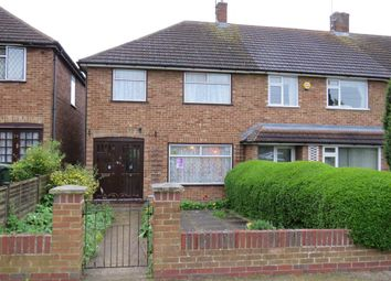Thumbnail 3 bedroom end terrace house for sale in Byron Road, Luton