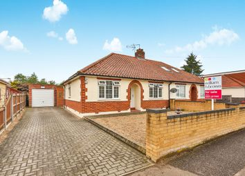 Thumbnail 2 bed semi-detached bungalow for sale in Overbury Road, Hellesdon, Norwich