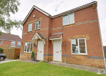 Thumbnail Semi-detached house to rent in Lathkill Court, North Wingfield, Chesterfield, Derbyshire