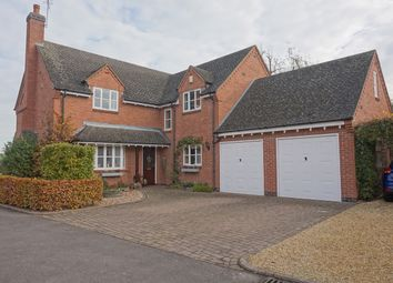 Thumbnail 4 bed detached house for sale in Hall Farm Close, Queniborough, Leicester