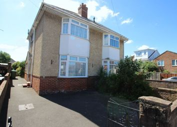 Thumbnail 2 bed semi-detached house for sale in Crosswell Close, Southampton