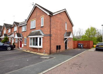 Thumbnail 3 bedroom end terrace house for sale in Sandpiper Close, Blackpool