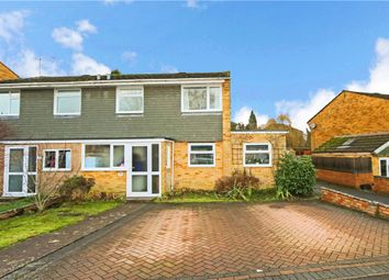 Thumbnail 3 bed semi-detached house for sale in Senlac Road, Romsey, Hampshire