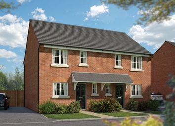 """Thumbnail 2 bed terraced house for sale in """"The Marston"""" at Burton Road, Streethay, Lichfield"""