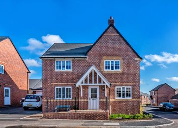 Thumbnail 4 bedroom detached house for sale in Cooke Way, Hednesford, Cannock