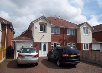 Thumbnail 4 bed semi-detached house to rent in Mill Lane, Wednesfield, Wolverhampton