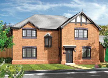 Thumbnail 4 bed detached house for sale in Daneside Park Forge Lane, Congleton