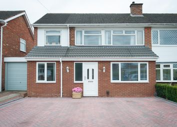 Thumbnail 3 bed semi-detached house for sale in Clifton Avenue, Tamworth