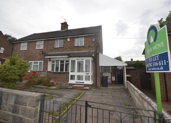 Thumbnail 2 bed semi-detached house to rent in Grasmere Avenue, Clayton, Newcastle-Under-Lyme
