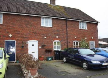 Thumbnail 2 bed terraced house for sale in Field Close, Sturminster Newton