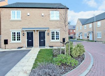 Thumbnail 2 bedroom semi-detached house for sale in Wheatsheaf Way, Waterbeach, Cambridge