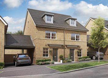 "Thumbnail 4 bed semi-detached house for sale in ""Kingsville"" at Gumcester Way, Godmanchester, Huntingdon"