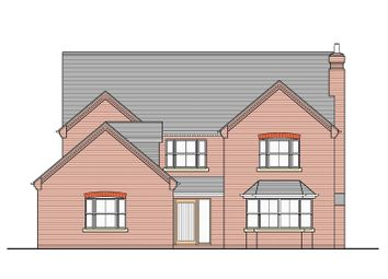 Thumbnail 4 bed detached house for sale in Thoresby Road, Tetney