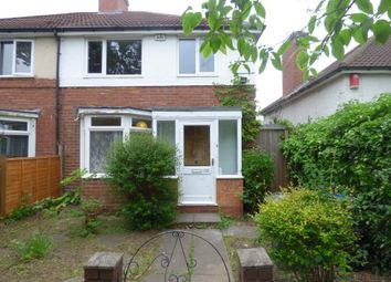 Thumbnail 3 bed semi-detached house to rent in Fellows Lane, Harborne, Birmingham