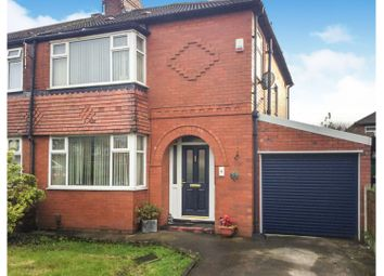Thumbnail 3 bed semi-detached house for sale in Harcourt Street, Reddish, Stockport