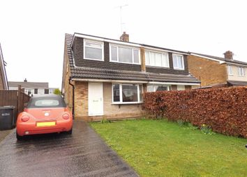 Thumbnail 3 bed semi-detached house for sale in Harewood Way, Macclesfield, Cheshire