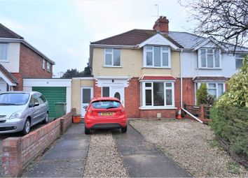 Thumbnail 3 bedroom semi-detached house for sale in Stratton Road, Swindon