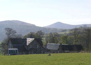 Thumbnail 4 bed farmhouse for sale in Newbridge-On-Wye, Llandrindod Wells