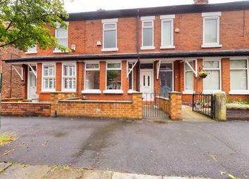 Thumbnail 3 bed terraced house for sale in Delamere Road, Flixton, Trafford