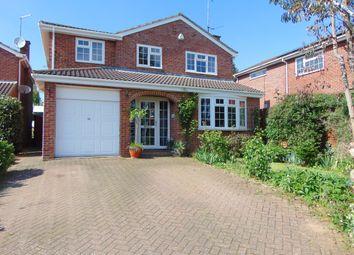 Thumbnail 4 bed detached house for sale in Foxlands, Desborough