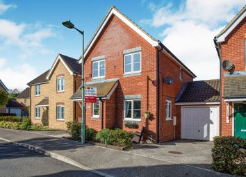 Thumbnail 3 bed detached house for sale in Hubbards Close, Saxmundham