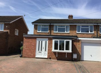 Thumbnail 3 bed semi-detached house for sale in Hitchin Road, Upper Caldecote