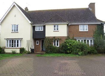 Thumbnail 5 bed detached house for sale in Fox Green, Great Bradley, Newmarket