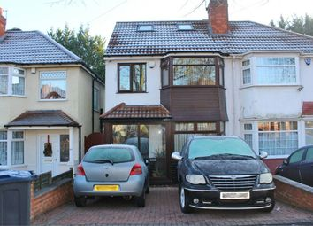 Thumbnail 5 bedroom semi-detached house for sale in Cateswell Road, Sparkhill, Birmingham, West Midlands