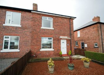 Thumbnail 2 bed semi-detached house for sale in Briar Terrace, Burnopfield, Newcastle Upon Tyne