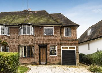 Thumbnail 5 bed semi-detached house for sale in Vivian Way, London