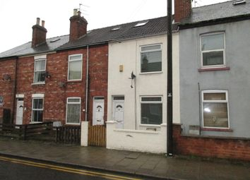 Thumbnail 2 bed terraced house to rent in Gordon Street, Gainsborough