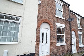 Thumbnail 2 bed terraced house to rent in Newton Street, Macclesfield, Cheshire