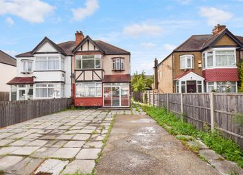 Thumbnail 3 bed semi-detached house for sale in St Augustines Avenue, Wembley, Middlesex