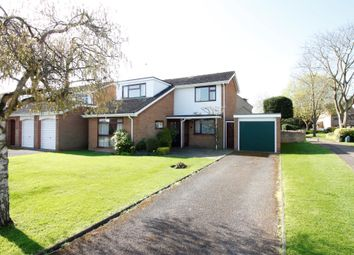 Thumbnail 3 bed detached house for sale in Melford Close, Longthorpe, Peterborough