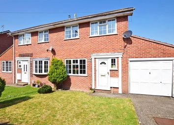 Thumbnail 3 bed semi-detached house for sale in Granada Close, Waterlooville, Hampshire