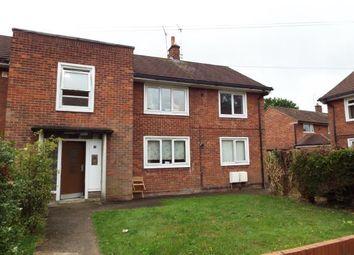 Thumbnail 2 bed flat for sale in Lavister Gardens, Wrexham, Wrecsam