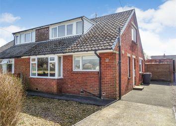 Thumbnail 3 bed semi-detached bungalow for sale in Westerlong, Lea, Preston, Lancashire