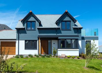 Thumbnail 3 bed detached house for sale in Bellier's Close, St. Ives, Cornwall