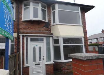 Thumbnail 3 bed semi-detached house to rent in Eastbourne Road, Blackpool
