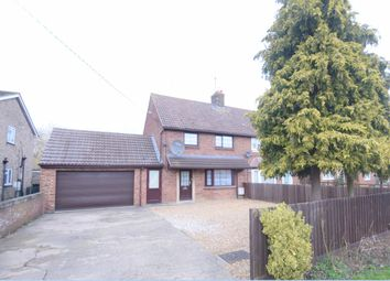 Thumbnail 4 bed semi-detached house for sale in Wood End Road, Kempston, Bedford