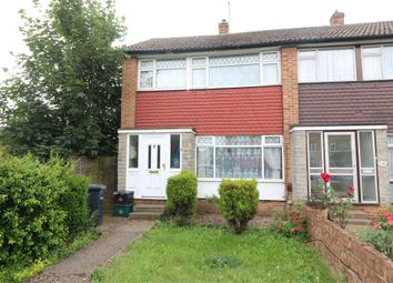 Thumbnail 3 bed end terrace house for sale in Russells Ride, Cheshunt, Hertfordshire