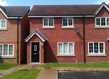 Thumbnail 3 bed semi-detached house for sale in Shawcroft View, Bolton