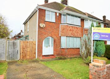 Thumbnail 3 bedroom semi-detached house to rent in Barnfield Avenue, Luton