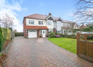 Thumbnail 5 bed semi-detached house for sale in Wilmslow Road, Mottram St Andrew, Cheshire