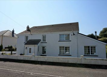 Thumbnail 5 bed detached house for sale in Ty Newydd, Pontardulais Road, Cross Hands, Llanelli